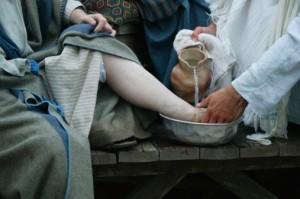 foot washing 3