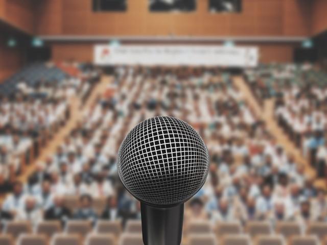 Microfono sala conferenze