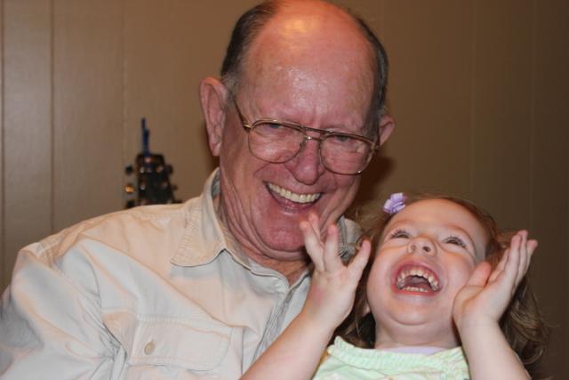 Grandpaw and Button